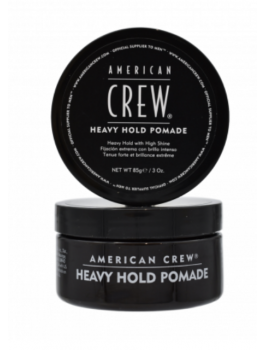 American Crew Heavy Hold Pomade 85g (Sort)-20