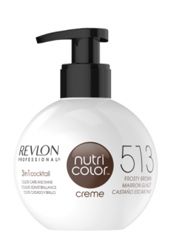 Revlon Nutri Color Creme 513 Frosty Brown 270 ml NEW-20