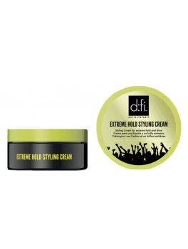 D:fi Extreme Hold Styling Cream 75g (lille Grøn)-20