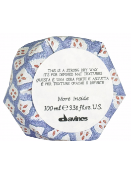 DAVINES MORE INSIDE STRONG DRY WAX 75ML-20