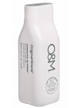 OandM original minerals conquer blonde silver conditioner 250 ml-20