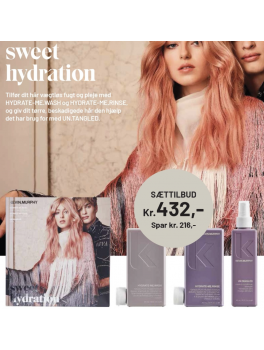 "Kevin Murphy ""SWEET HYDRATION"" sæt HYDRA-ME.WASH 250ml, HYDRA-ME.RINSE 250ml, UN.TANGLED 100ml-20"