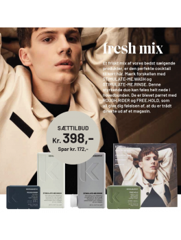 Kevin Murphy FRESH MIX = 2 X STIMULATE WASH and RINSE ä 250ml og ROUGHT.RIDER 30g and FREE HOLD 30g-20