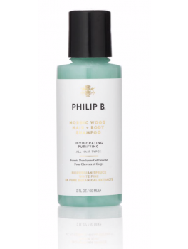 Philip B Nordic Wood Hair and Body Shampoo 60 ml.-20