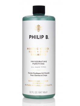 Philip B Nordic Wood Hair and Body Shampoo 947ml-20