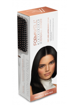 KENDALL JENNER Runway Series Pro Paddle Brush Detangle and style with shine-20