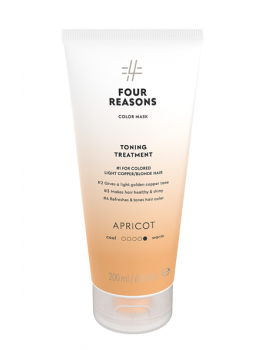 Four Reasons Color Mask Toning Treatment Apricot 200 ml-20