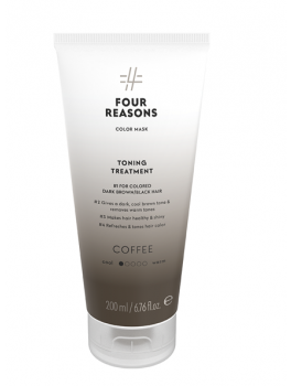 Four Reasons Color Mask Toning Treatment Coffee 200 ml-20