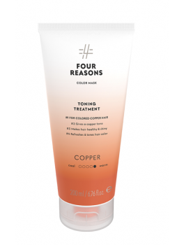 Four Reasons Color Mask Toning Treatment Copper 200 ml-20