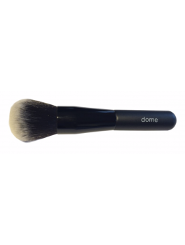 Mineralogie Brush Dome w. white hairtip NEW-20