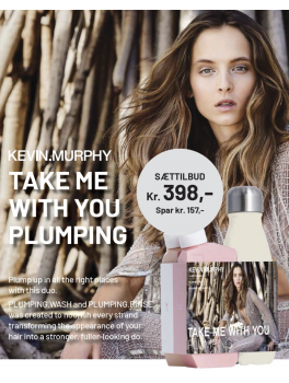 Kevin Murphy Take Me With You Plumping 2 x 250ml + vandflaske-20