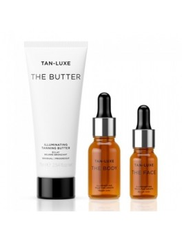 TAN LUXE SELF TANNING KIT LIGHT MEDIUM 75 ML 15 ML 10 ML-20