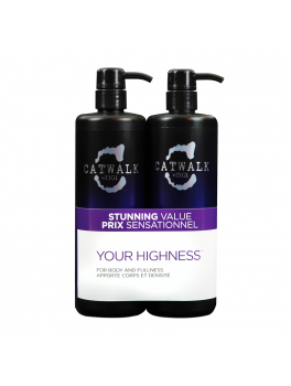 TIGI Super size Your Highness Shampoo + Conditioner 1500 ml.-20