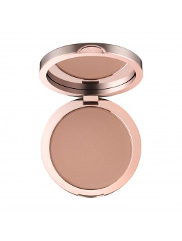 delilah sunset compact matte bronzer dark medium + GRATIS SMALL POWDER BRUSH-20