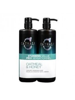 TIGI Super size Oatmeal and Honey Shampoo + Conditioner 1500 ml.-20