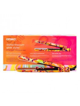 Amika digital titanium glide styler + GRATIS Amika oil treatment-20